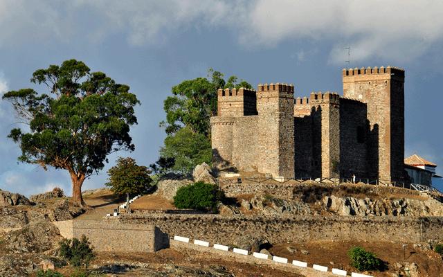 Cortegana-castillo-Huelva